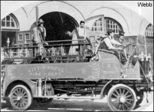 WEBB hose wagon - 1912