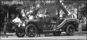 1920 LaFrance pumper