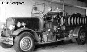 1928 Seagrave pumper