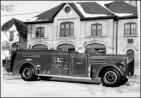Pumper side view - 1952