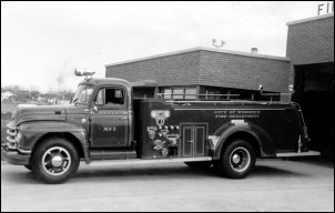 Pumper side view - 1955
