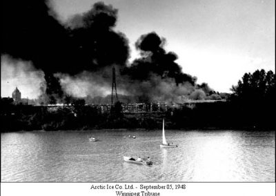 Arctic Ice Company fire - 1948