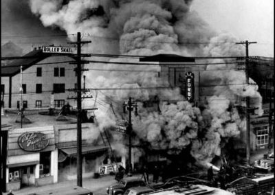 Furby Theatre fire - 1952