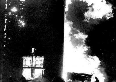 Grain Elevator fire - 1972