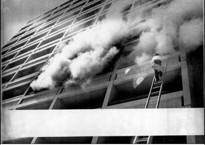Holiday Inns Downtown fire - 1980