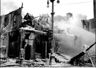 The Manitoba & Imperial Hotels fire - 1954