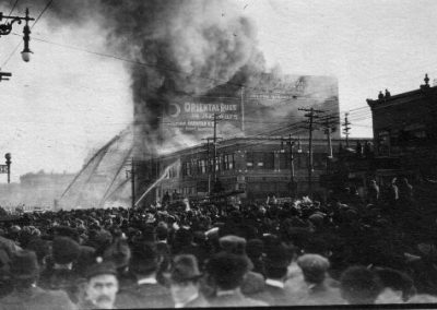 Scott Block fire - 1914