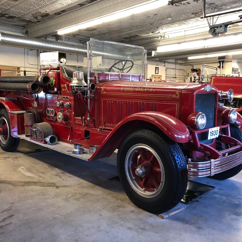 1930 LaFrance Pump